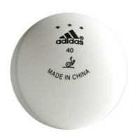 Adidas 3 Star Competition 40mm Balls - 1 Dozen