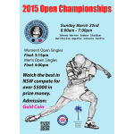 Table Tennis World Mobile Shop - 2015 Open Championships